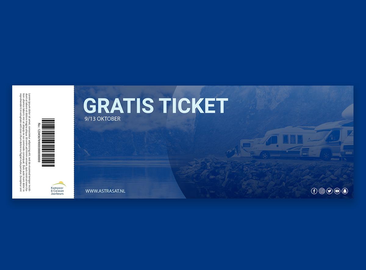 Maak kans op het winnen van kaarten voor de Kampeer en Caravan Jaarbeurs 2019!