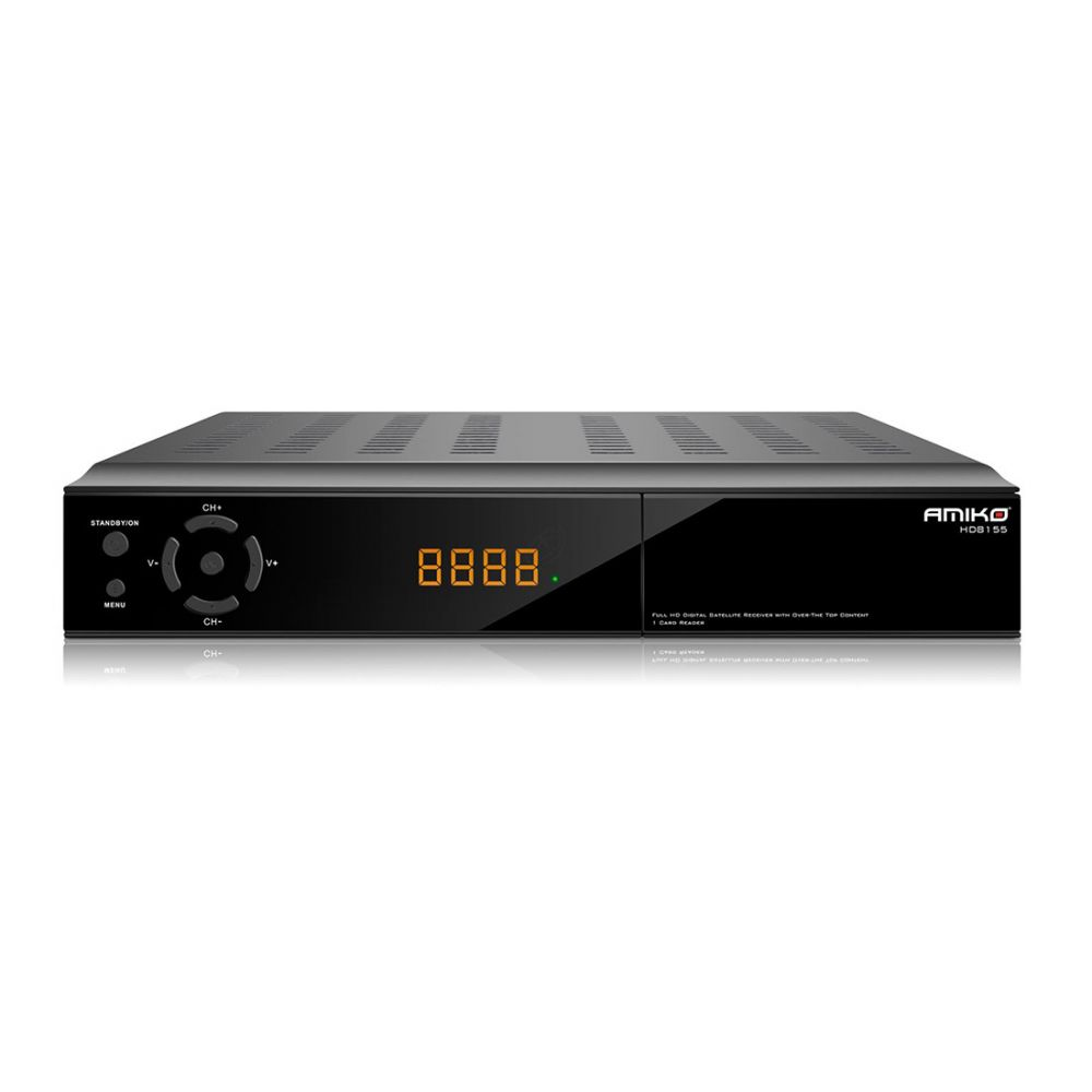Amiko HD8155 - DVB-S / DVB-S2 tuner -  Conax kaartlezer