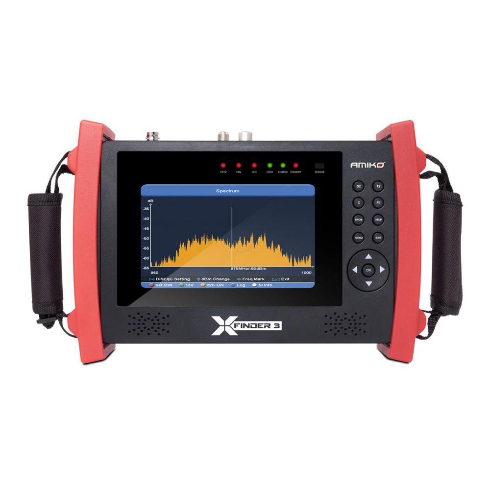 Amiko XFinder 3 HD SE - DVB-S2 / C / T2 - HEVC H.265 - CCTV