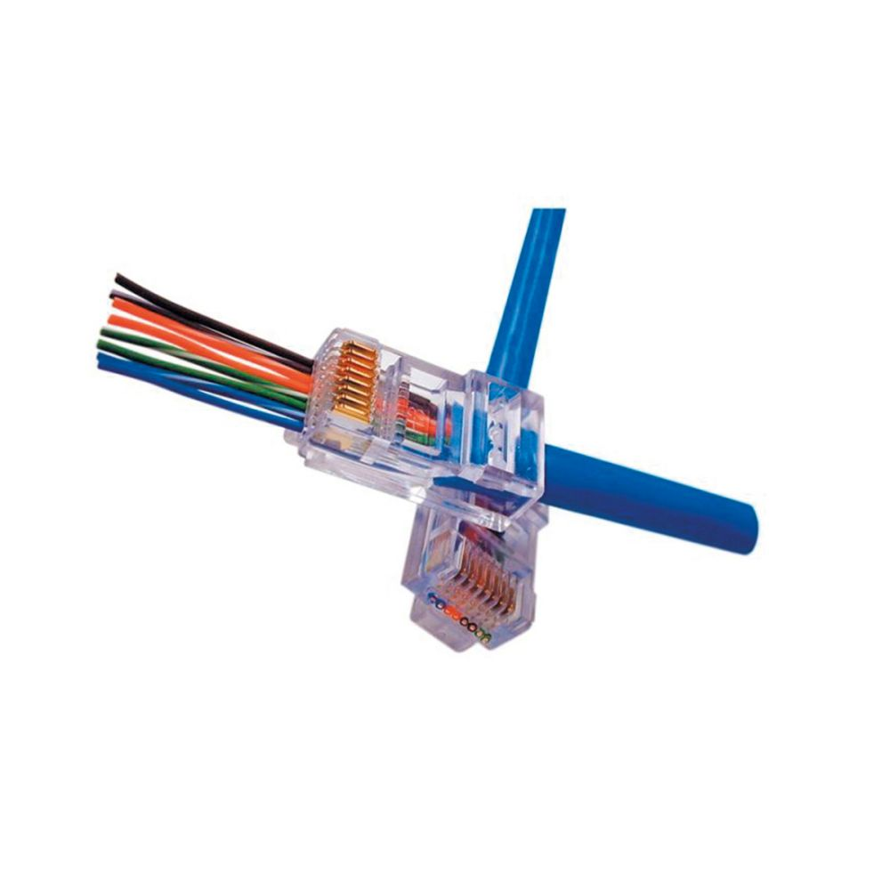 BELDEN EZ-RJ45 - Cat.6 connector - Platinum Tools - 100 stuks