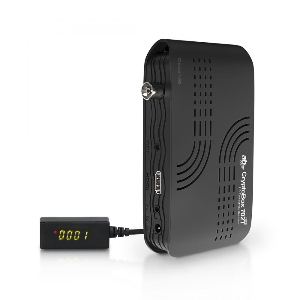 Cryptobox 702T mini – Digitenne KPN – Full HD - HEVC H.265 ontvanger