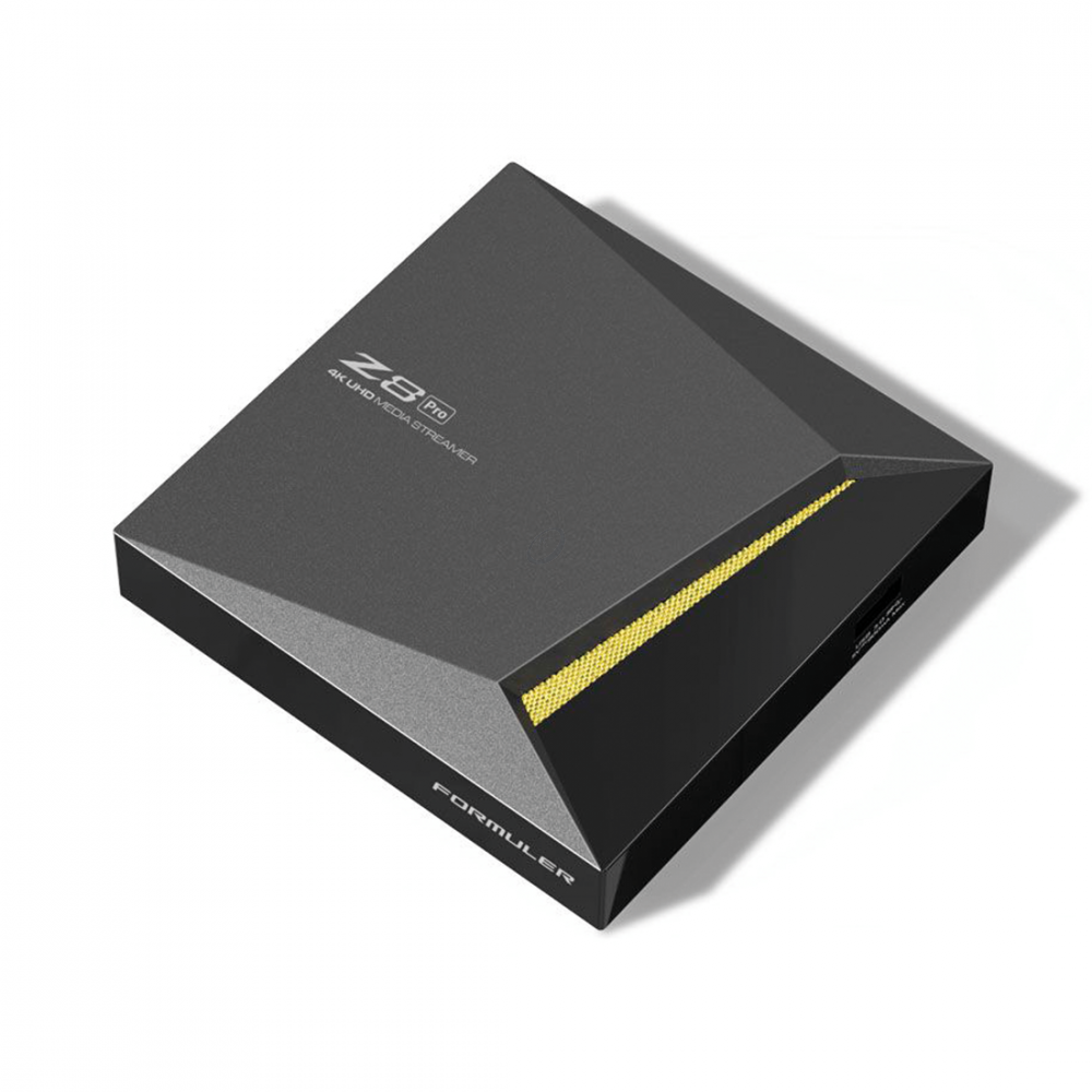 Formuler Z8 Pro - IPTV Mediaspeler - 4K UHD + IRL Remote