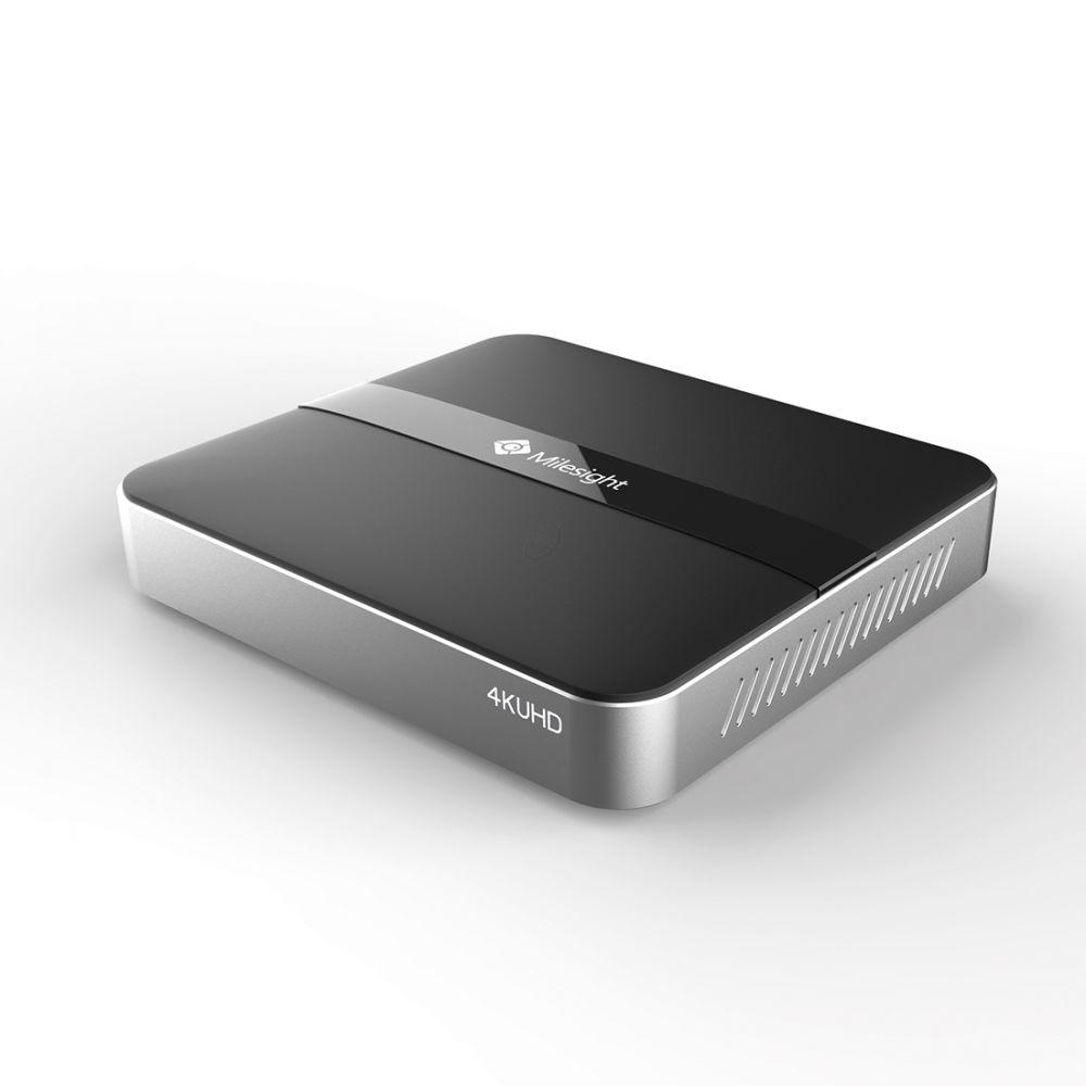 Milesight NVR N1004 UPT 9CH 4CH - 4K UHD - ONVIF-compatibele