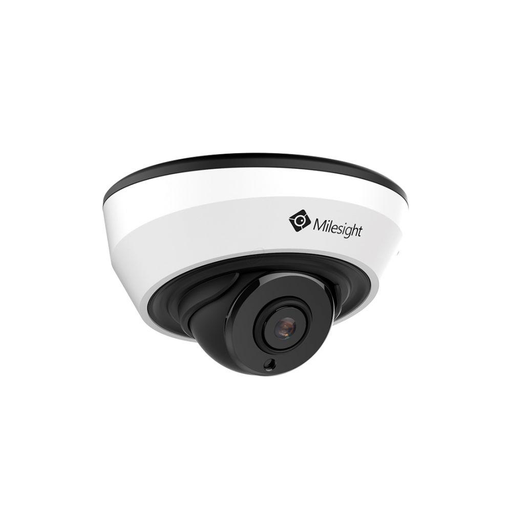 Milesight IR Mini Dome Network Camera - 8MP - H.265 - Wit