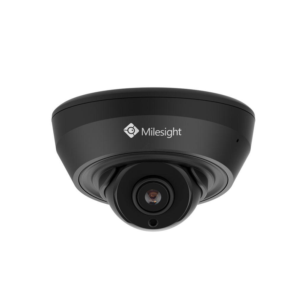 Milesight IR Mini Dome Network Camera - 5MP - H.265 - Zwart