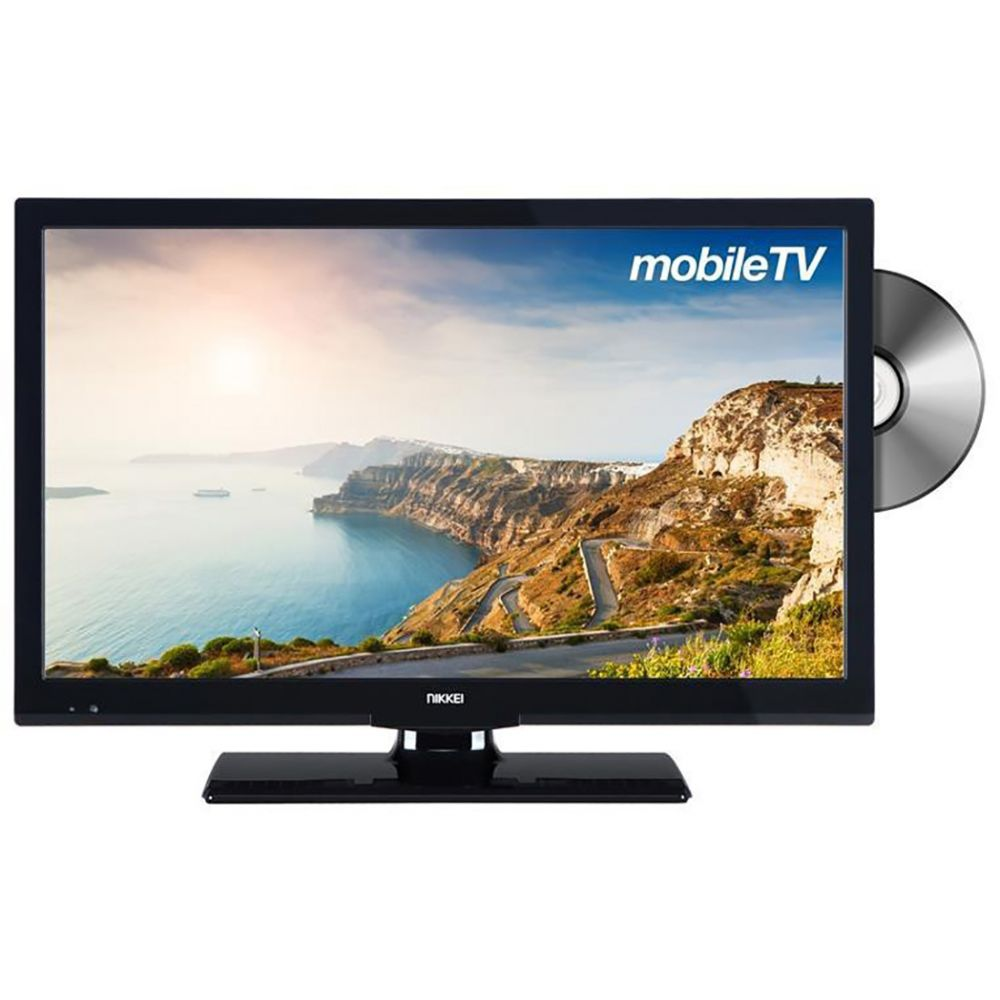 "Nikkei - NLD24MSMART - 24"" Mobile LED TV HD - Smart - DVD speler"