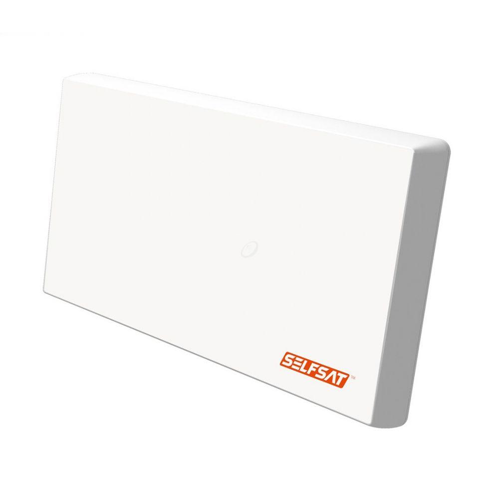 Selfsat - H22D4+ - Platte satellietantenne - Quad LNB