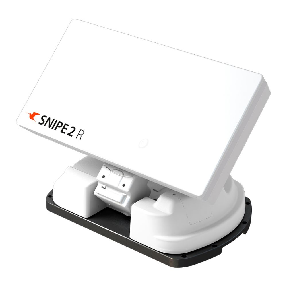 SelfSat Snipe 2R Single - Volautomatische Schotel vlak antenne met GPS en AutoSkew
