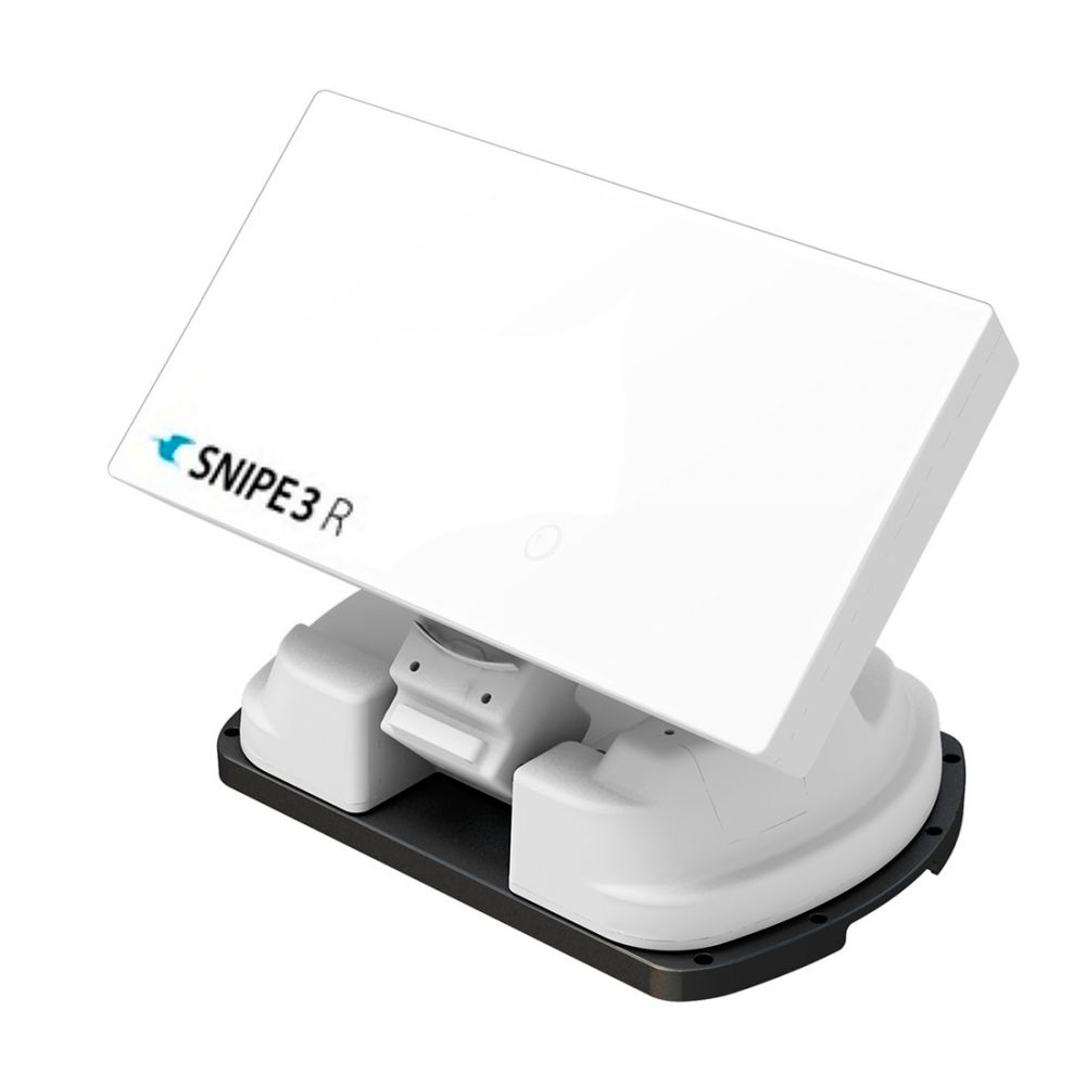 Selfsat Snipe 3R Twin - met afstandsbediening - Volautomatische satellietcamping