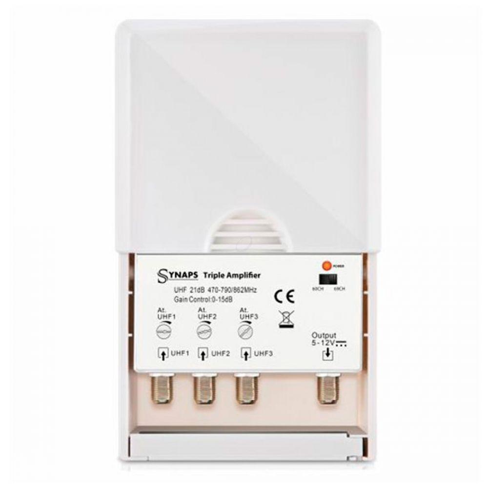 Synaps - Drievoudige versterker - LTE-filter - Outdoor - 21dB