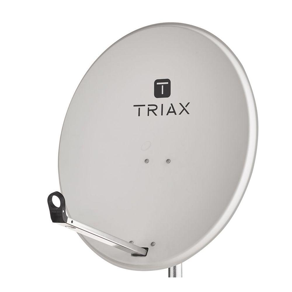 Triax TDS 100LG Schotelantenne - 100cm - Singlepack - Lichtgrijs