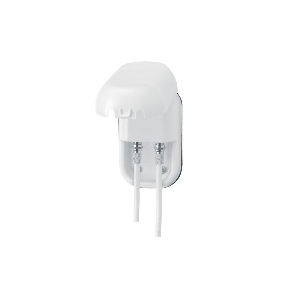 Maxview waterdichte kabel doorvoer Wit - enkele met Coax Connector B2021