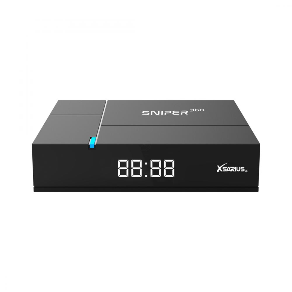 Xsarius Sniper 360 WiFi OTT - IPTV - Full HD - HEVC/H.265 - Linux