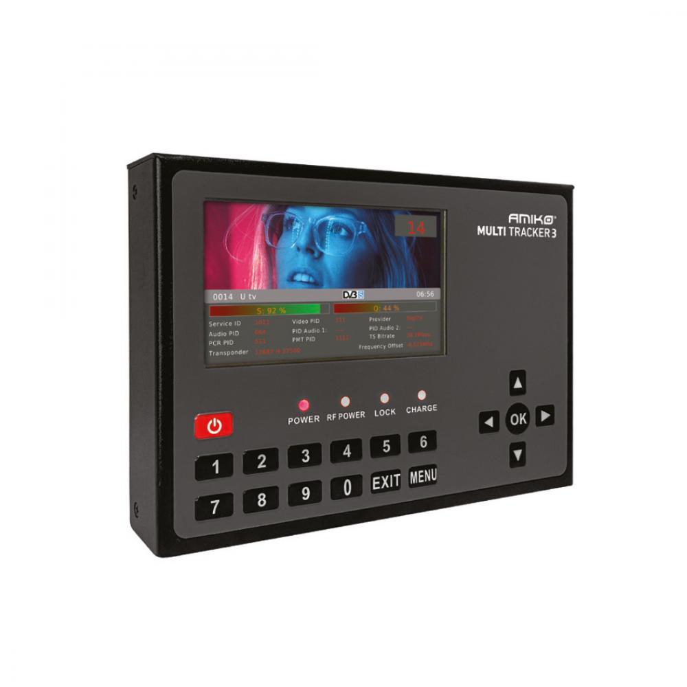 Amiko Multitracker 3 - Professional Hybrid DVB Meter - 5