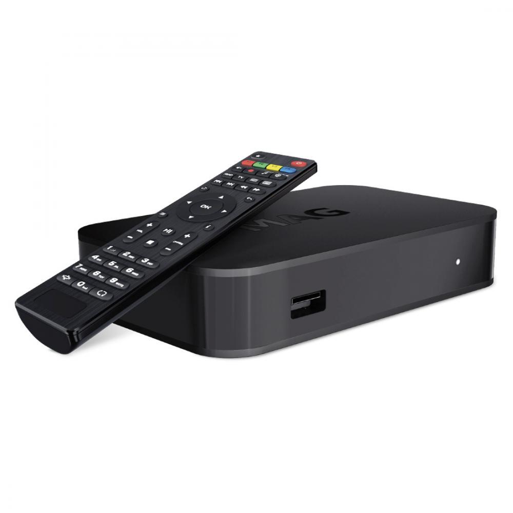 MAG420 IPTV/OTT ontvanger - 4K&HEVC - Linux OS
