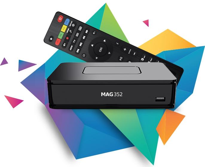 Mag351 premium 4K Ultra (UHD) IPTV Set-Top Box