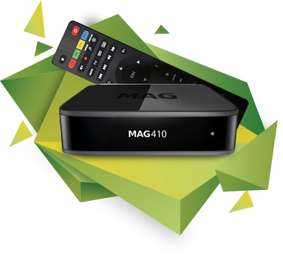 Mag410 4K Ultra HD (UHD) Set-Top Box voor Android