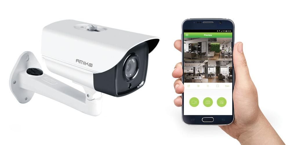 AMIKO HOME IPCAM beveiligingscamera's voordelen